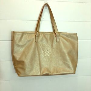 Vince Camuto Matted Gold Large Tote bag
